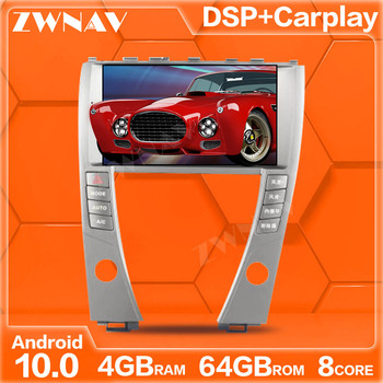 DSP carplay 64G Android 10.0 touch screen Car Multimedia DVD player For LEXUS ES 2006-2012 Audio Radio stereo GPS Navi head unit image
