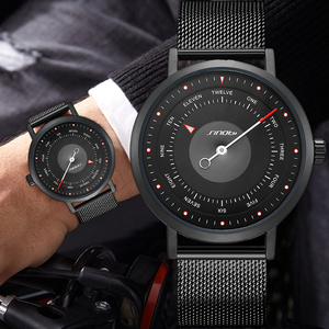 Image 3 - SINOBI Hot Fashion Mens Creative Sport Watch Quartz Clock Casual Military Luminous Waterproof Wrist Watch Relogio Dropshipping
