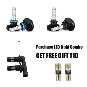 6x Combo Hi/Lo LED Headlight + Fog Light For 2011-2018 Dodge Ram 1500 2500 3500 4500 5500