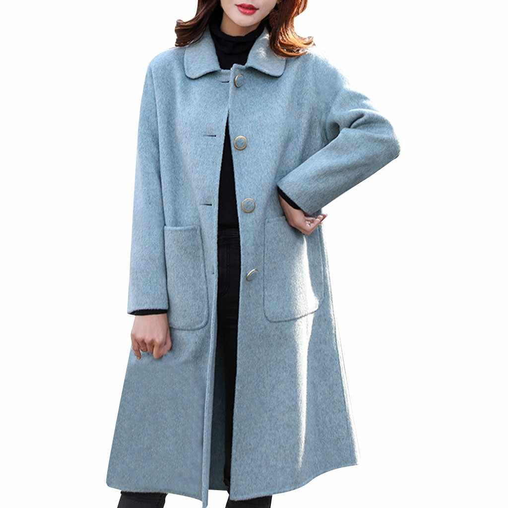 Plus Größe Langarm Casual Strickjacke Mantel Weibliche Tasche Taste Langen Mantel Frauen Gestrickte Frauen mantel Plus Größe kaminsims dames