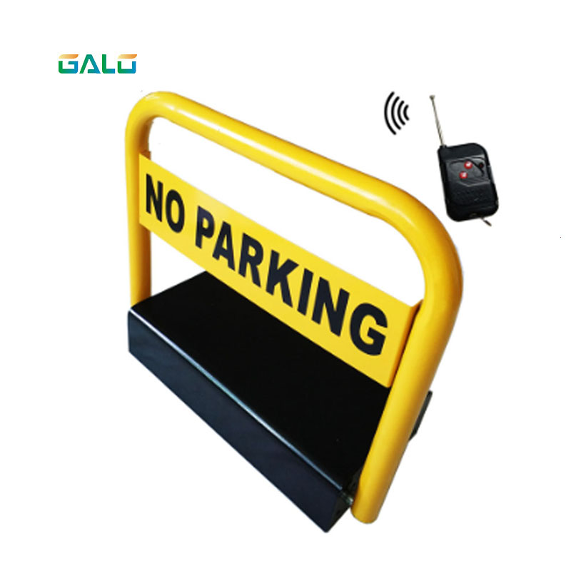 High Quality Intelligent Car Parking Lock /remote Parking Barrier With Waterproof Function