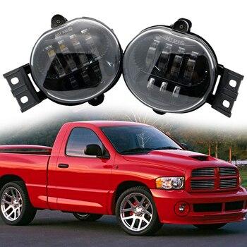 Pair LED Fog Passing Light for Dodge Ram 1500 2002-2008 Dodge Ram 2500/3500 Pickup Truck 2003 2004 2005 2006 2007 2008 2009