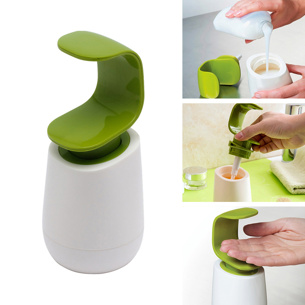 Manually Pressing Soap Lotion Dispenser Kitchen Bathroom Accessories Container Soap Liquid Organizer Kitchen Cleaner Tool