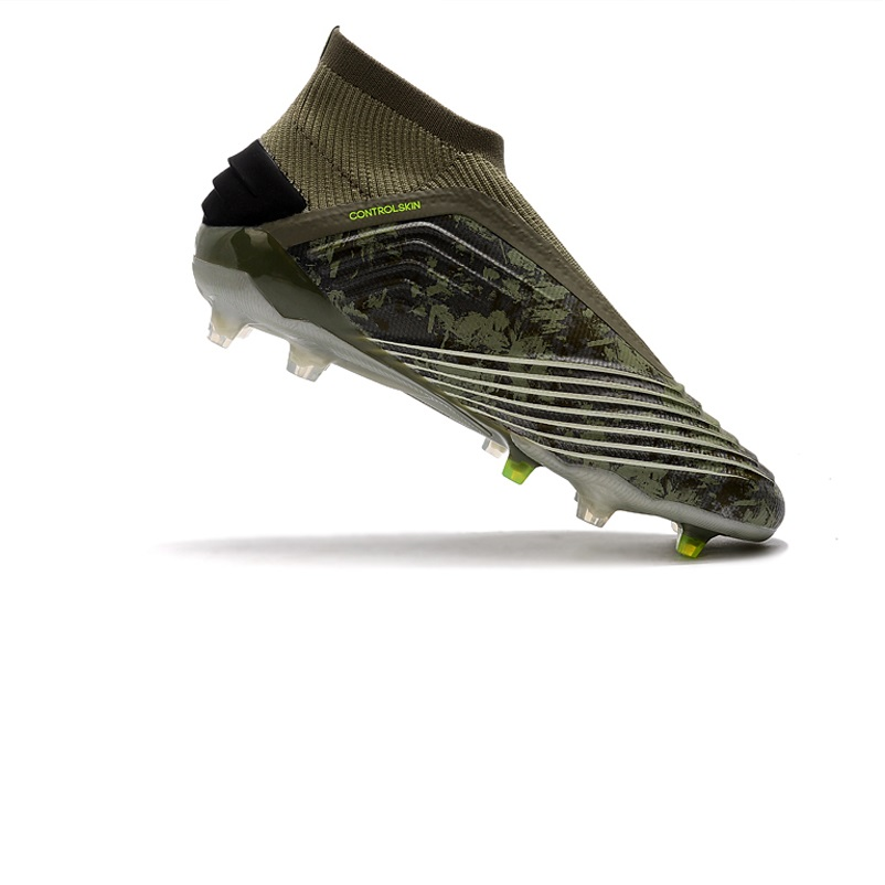 New Arrival 2020 PredATor 19+ FG Soccer Shoes High Ankle Football Boots Free Shipping