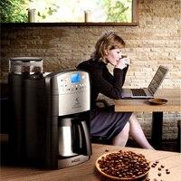 DCM-208 가정용 전기 커피 머신 탑 커피 콩 그라인더 완전 자동 220 v 커피 메이커