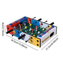 Wooden Soccer Game Table Indoor Table Soccer Set For Game Room Bars Family Night