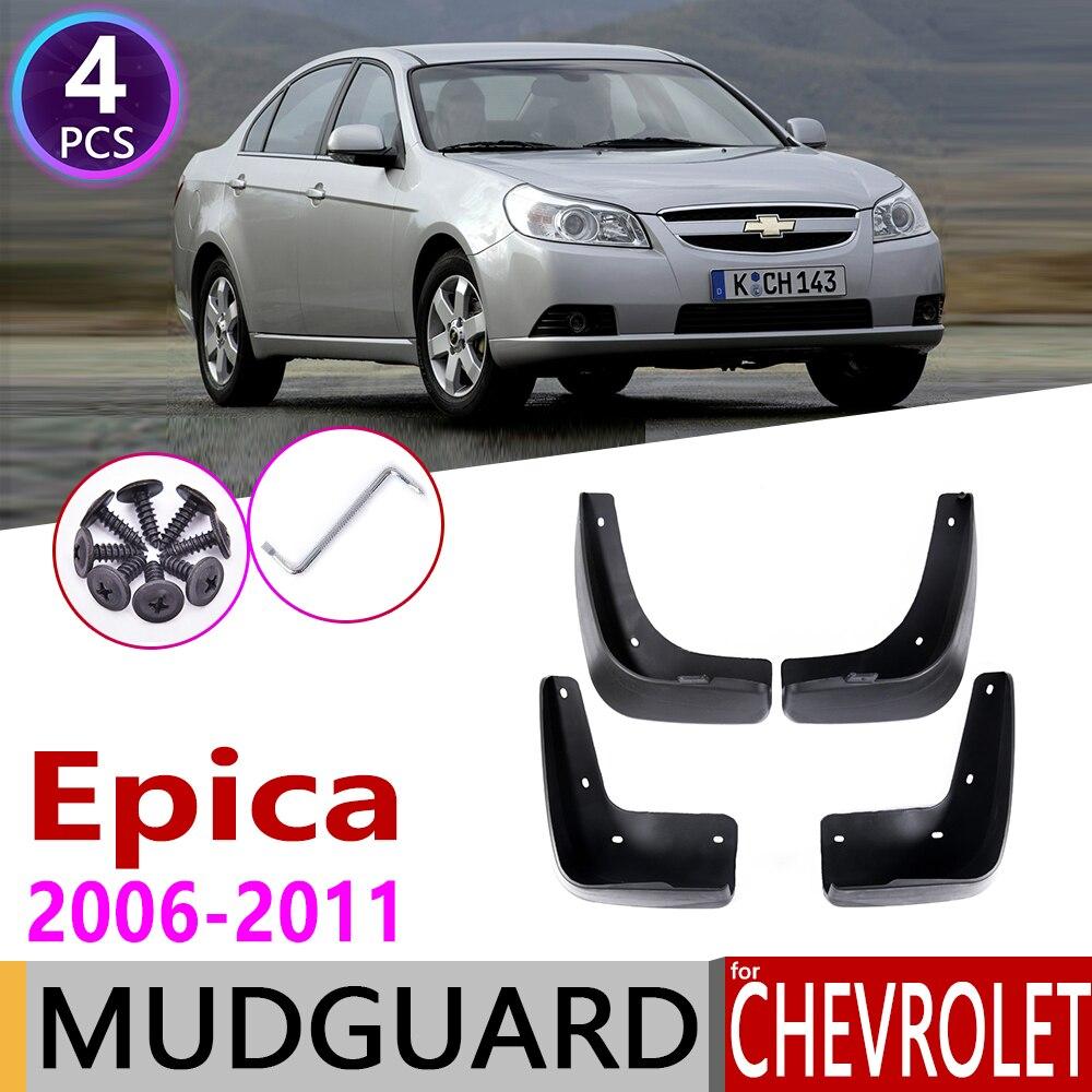 Car Mudflaps For Chevrolet Holden Epica 2006~2011 Fender Mud Guard Flaps Splash Flaps Mudguards Accessories 2007 2008 2009 2010