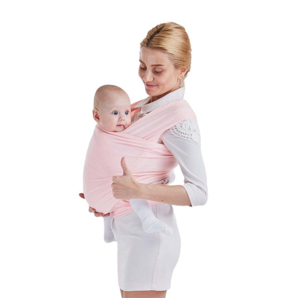 Hot Baby Sling Wrap Babyback Carrier Ergonomic Infant Strap Porta Wikkeldoek Echarpe De Portage Accessories for 0-18 Months
