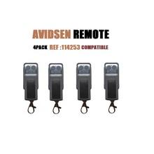 Alisontech 114253 substituição de controle remoto para avidsen extel thomson (4 pacote)