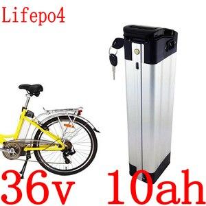 Литиевая батарея Ebike lifepo4, 36 В, 500 Вт, 36 В, 10 А · ч, литий-ионная батарея LiFePO4 с зарядным устройством 15A BMS + 2A