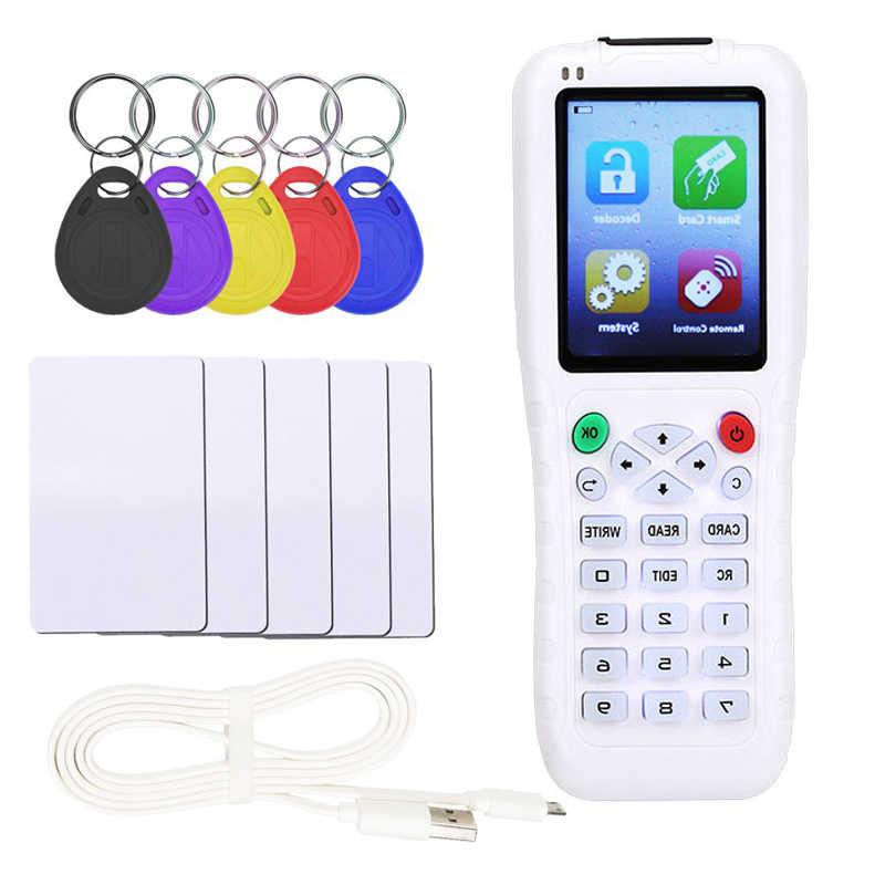 Icopy Rfid Copier Nfc Ic Id Duplicator Reader Writer Met Volledige Decode Functie Smart Card Key 3 5 8 Engels versie Nieuwste