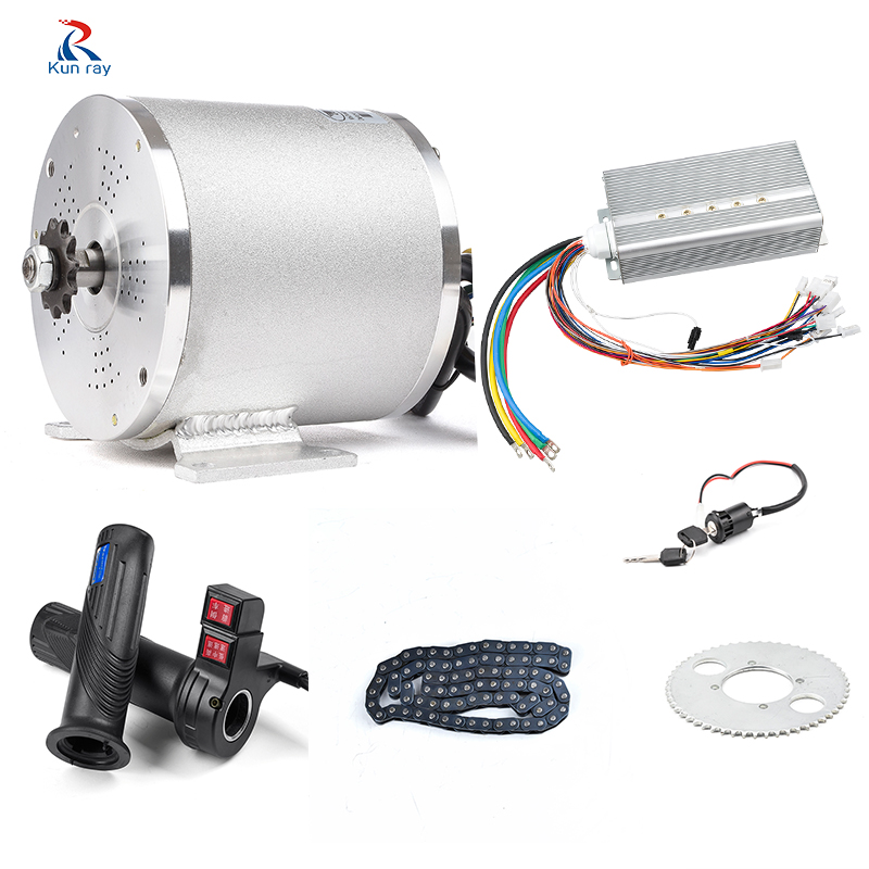 72V 3000W 50A bicicleta electrica plegable Motor <font><b>wheel</b></font> For Scooter <font><b>Electric</b></font> Bicycle Motor Ebike E-Car Engine <font><b>Motorcycle</b></font> Part image