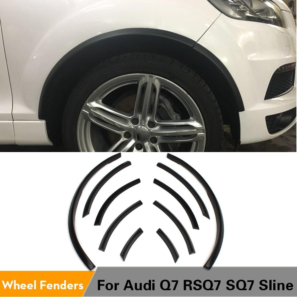 Полиуретановая яркая черная узкая Автомобильная паромная прокладка для бровей, крыло, осветительные накладки на колеса, арочные накладки д