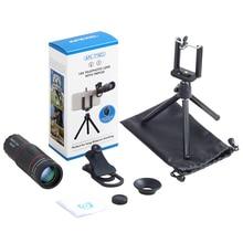 30pcs/set APEXEL 18X Telescope Zoom telescope  Mobile Phone Lens for iPhone Xiaomi Smartphones  APL-18XT