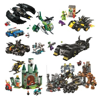 2020 New Super Heroes Dc Batcaves Clayface Invasion Compatible Lepining Batman 76122 Building Blocks For Kids Christmas Gift super heroes rabbit simpsons batman nightmare catman poison ivy march harriet harley quinn dick grayson buiding blocks kids toys