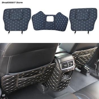 Car Seat Back Anti-kick Mat Anti-Dirty Protector Cover Waterproof Pads For Honda CRV CR-V 2017 2018 2019 2020