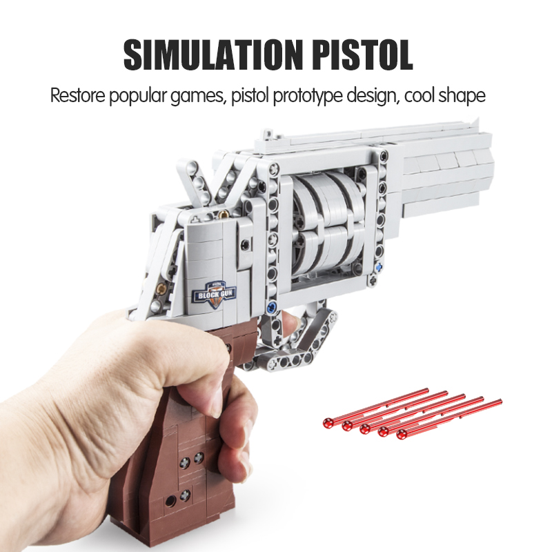 Cada SWAT Military WW2 Weapon Revolver Building Blocks