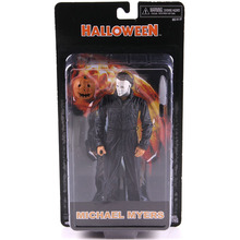 купить NECA Halloween Michael Myers PVC Michael Myers NECA Horror Movie Action Figures Collectible Model Toy дешево