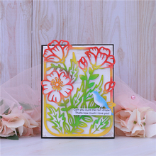 Eastshape Flower Frame Metal Cutting Dies Spring Blossom New 2020 for Card Making Scrapbooking Cuts Decor Stencil Craft Dies eastshape creative diy dies metal cutting dies new craft frame dies for 2019 card making scrapbooking album decor gift box seal