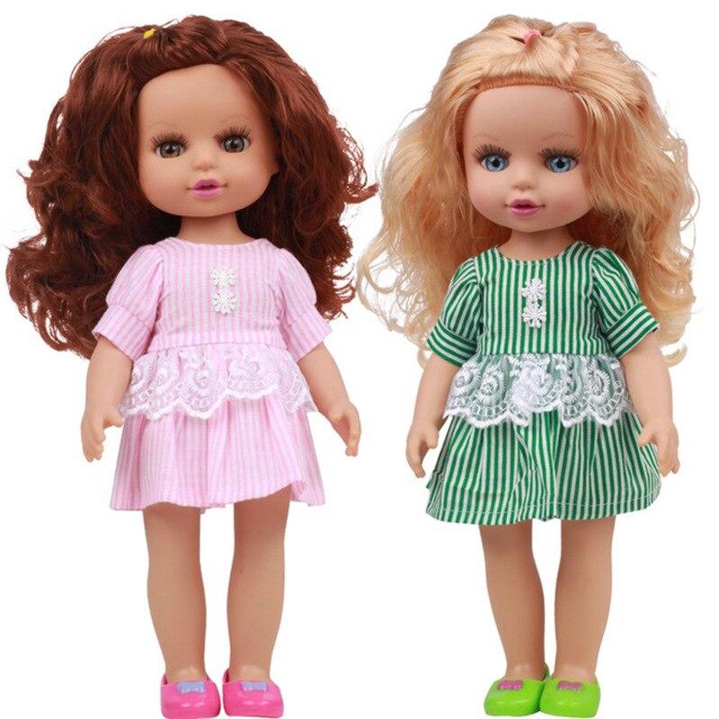 35 cm novo bebê bonecas brinquedos para meninas dormir acompanhar boneca bonito menor preço aniversário presente de natal