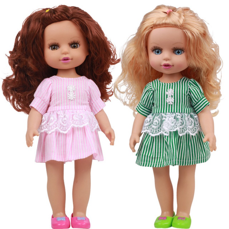 35CM NEW Baby Dolls Toys For Girls Sleeping Accompany Doll Beautiful Lower Price Birthday Christmas Present