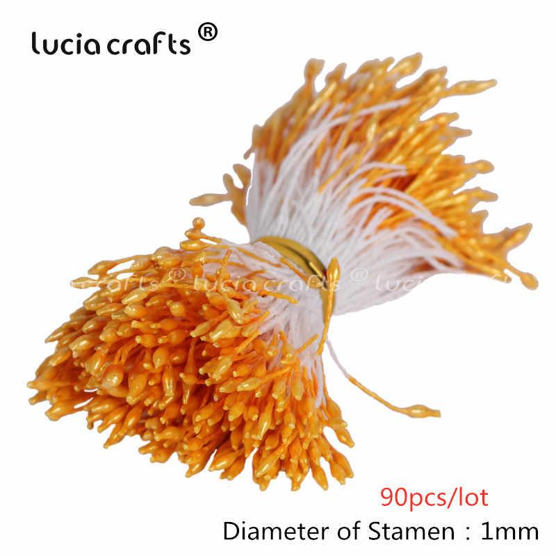 6/10/12/50/70/288 Pcs Campuran Orange Flower Cherry Benang Sari Buah Bundel DIY natal Kue Pernikahan Kotak Hadiah Karangan Bunga Dekorasi D0313