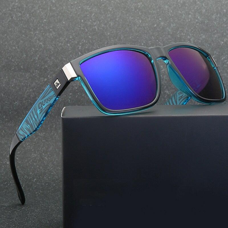 Gafas de sol cuadradas clásicas QUISVIKER para hombre y mujer, gafas de sol deportivas para playa al aire libre, gafas UV400