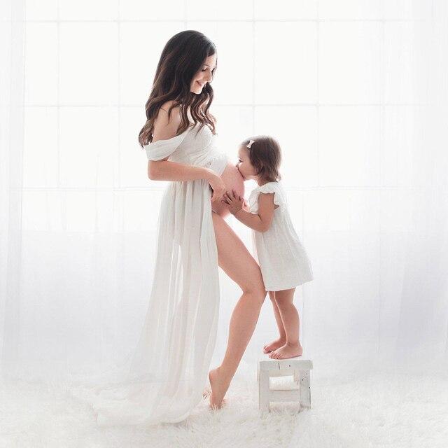 Chiffon Maternity Dresses for Pregnant Women  2