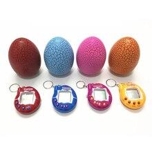 Горячий% EF% BC% 811pc Тумблер Динозавр Яйцо Многоцветный +Virtual Cyber Digital Pet Game Toy Tamagotchis Digital Electronic E-Pet +Gift
