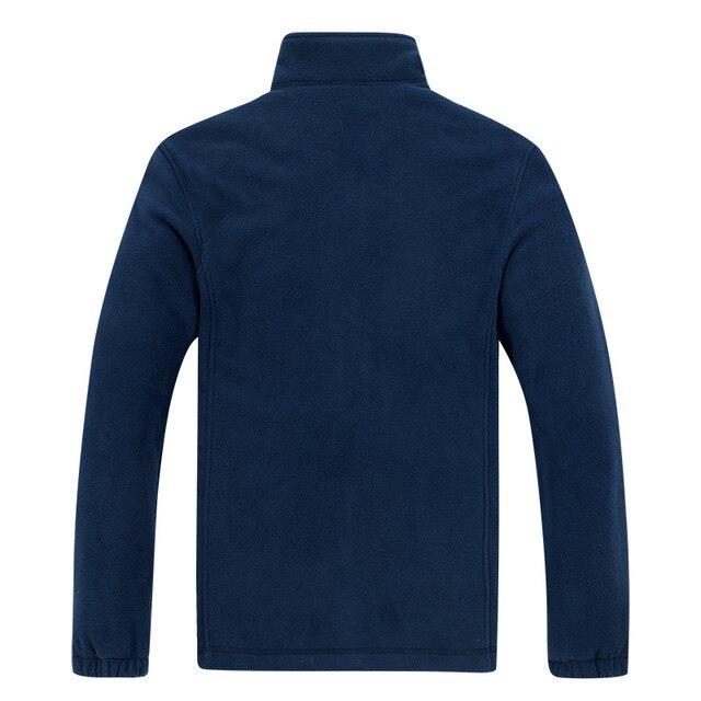 Men's Winter Demi-season Jacket Soft  Fleece Warm 2020 Autumn Windproof Thick Thermal Men Windbreaker Black Coats Bomber Male 4
