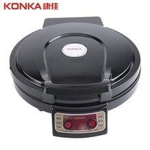 KONKA 900W 220V 50Hz электрическая сковорода& Backer двухстороннее нагревание выпечки сковорода машина для Хо использовать держать кухня использовать KBP-3201