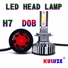 KULUZE 880 881 H1 H11 LED H4 Car Fog light H8 H9 9005 9006 9012 H7 HB3 HB4 H3 H27 48W 8000LM 6500K 12V Auto Headlight led lamp