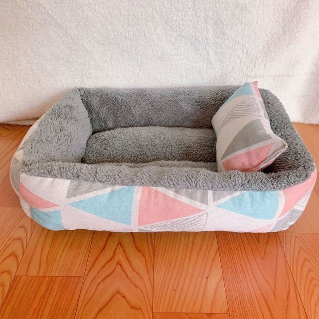 Dog Bed Cotton Dog Bed Waterproof Nest Dog Baskets Mat Soft Pet Bed Autumn Winter Warm Cozy Dog Cat House Pet Products Cat Bed 5
