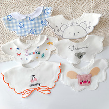 Bib Fake Collar Princess Feeding-Bib Infant-Accessories Saliva Newborn-Baby Girls Boys
