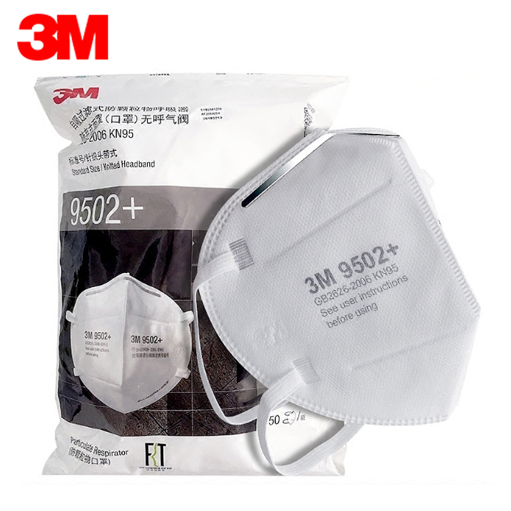 3M N95 Respirator Mask PM2.5 Mascherine Ffp2 Dust Mask Breathable 95% Close To Mascherina Ffp3 Protective Mask