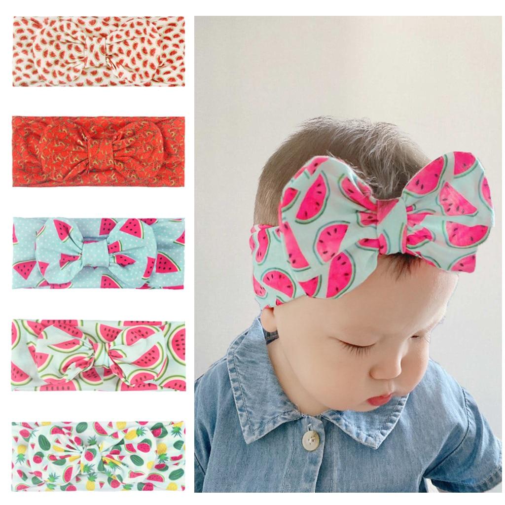 Coroa Cocar Acessórios Para o Cabelo Da Menina Do Bebê recém-nascido Headbands Sólidos Para Crianças Faixas de Cabelo Bow Headband Headwears Na Cabeça