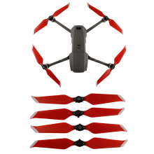 4 шт. 8743F малошумный реквизит для DJI Mavic 2 Pro Zoom Drone быстросъемное лезвие на замену Опора крыло вентиляторы запасные части