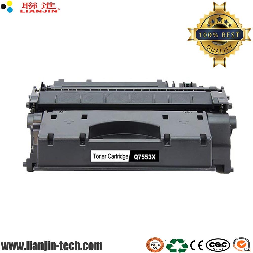 Q7553X 53X Toner Cartridge for HP LaserJet P2015 M2727 High Yield