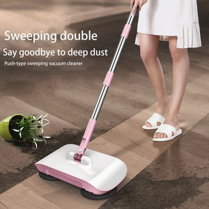 Image 5 - Factory direct hand push sweeper household broom dustpan mop all in one gift mop sweeper without dead corner cleaning mop
