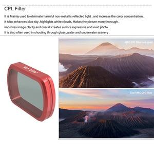 Image 3 - עבור DJI כיס 2 מסנן MC UV/CPL/ND 8 16 32 64 PL/צבע מסנני הגנת מקרה עבור DJI אוסמו כיס כף יד מצלמה Accessries