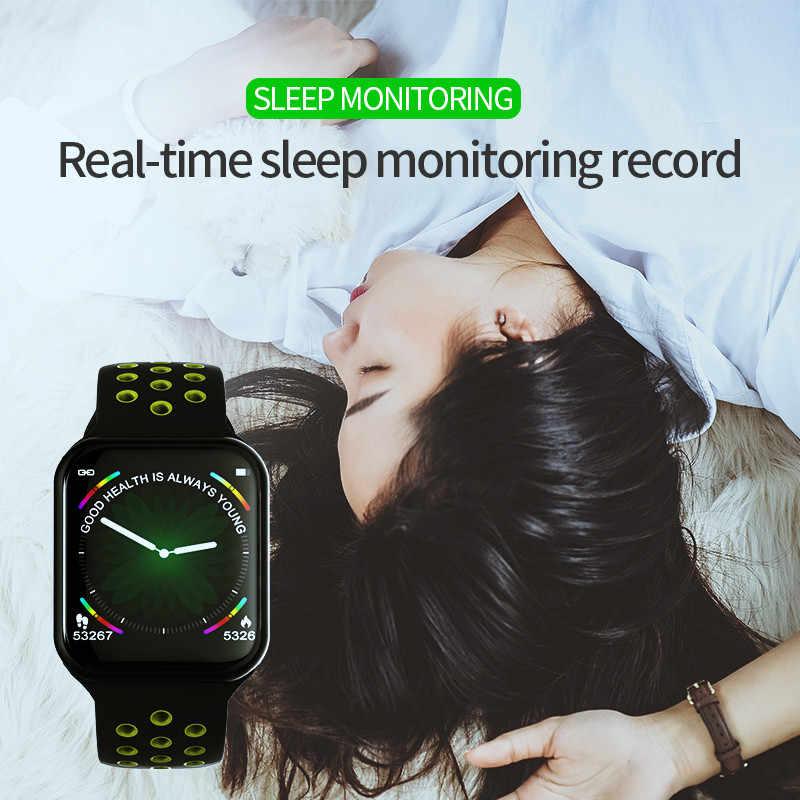 Умные часы F8 ip67 водонепроницаемые часы VS P70 S226 P68 Q9 монитор сердечного ритма кровяное давление мужские спортивные умные часы для IOS android