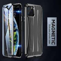 CASEIER nowy Ultra magnes telefon Case dla iPhone 11 Pro Max Fundas 360 pełne pokrycie dla iPhone X XS max XR 7 8 Plus Capinhas