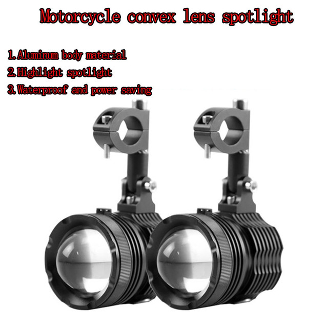 LED Lights for BMW Motorcycle 40W 6000K Spot Driving Fog Lamps For BMW R1200GS F800GS F700GS F650 K1600| |   -