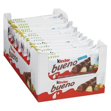 Kinder good, box of 30 units 2 bars 43 gr.