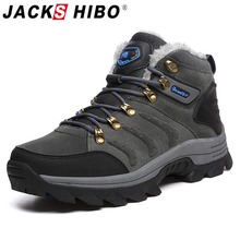 Hiking-Shoes Sneakers Jackshibo Tactical Upstream Mountaineer Climbing Outdoor Winter