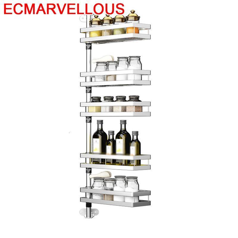 Cuisine Etagere Sink De Pantry Organizer Especias Stainless Steel Rotate Cozinha Cocina Organizador Mutfak Kitchen Rack|Racks & Holders| |  - title=