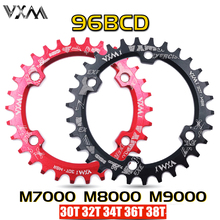 VXM 30T 32T 34T 36T 38T 96BCD Aluminum Alloy Oval Round Chainring Chainwheel Road Bicycle ChainRing for M7000 M8000 M9000