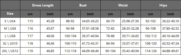 尺码表-PC