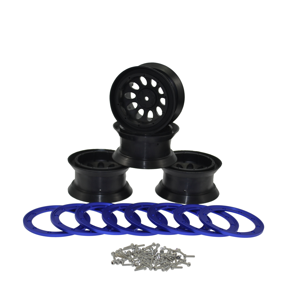 4PCS <font><b>RC</b></font> <font><b>Crawler</b></font> <font><b>2.2</b></font> inch Beadlock Wheels for 1/10 <font><b>RC</b></font> Rock <font><b>Crawler</b></font> Axial SCX10 TRAXXAS HSP <font><b>2.2</b></font>