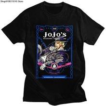 Личность манга jojo странные приключения рубашка Для мужчин